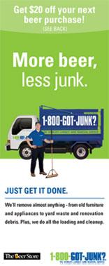 1-800-Got-Junk? makes a beer run | Marketing Magazine