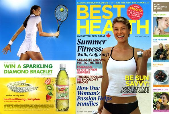 lipton is under flaps at best health marketing magazine