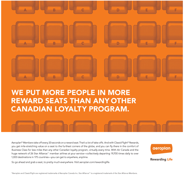 Aeroplan's first brand campaign since '06 takes flight