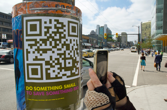 qr Code Campaign Wild is Using qr Codes on