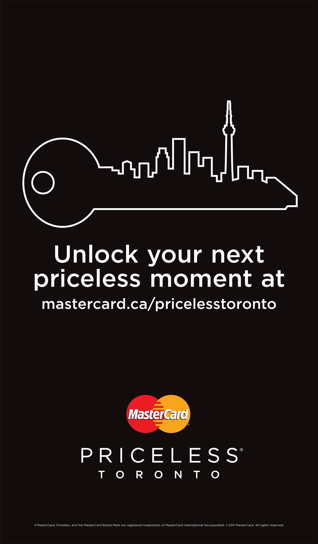 Mastercard write a priceless ad