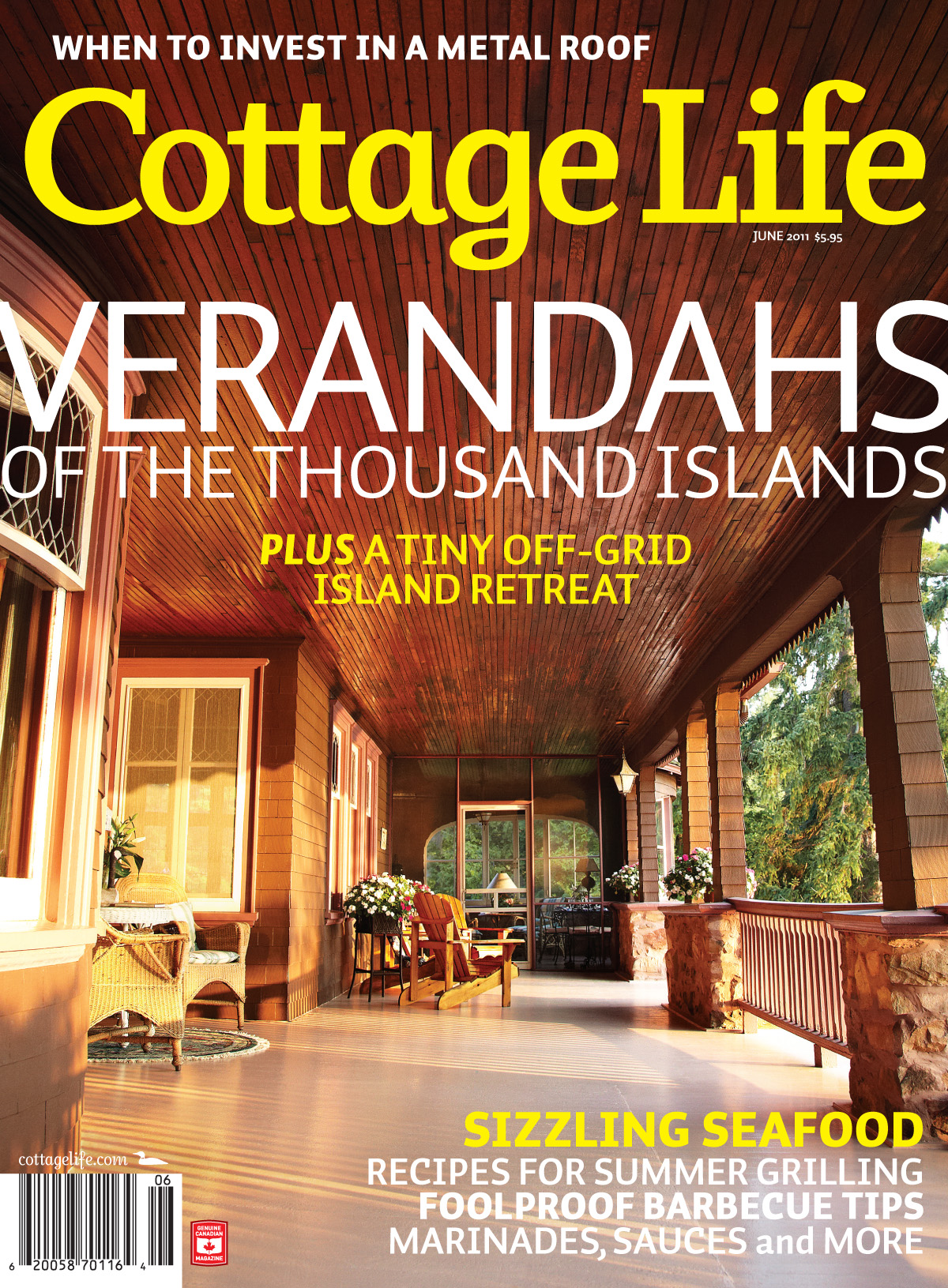 cottage life Cottage life is a canadian magazine focusing on cottage lifestyle content first published in the summer of 1988, the publication features how-to articles, buying.