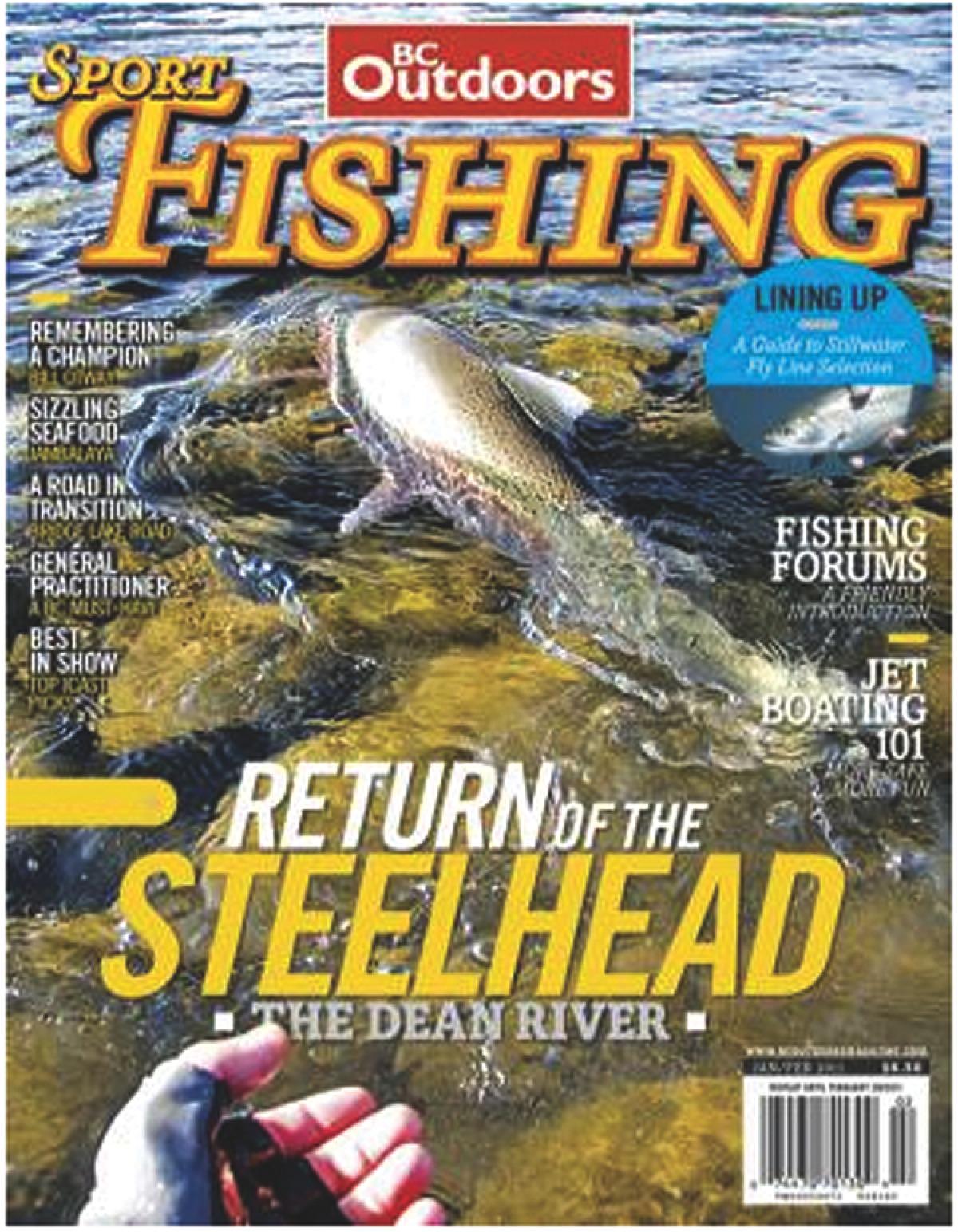 Bc outdoor sport fishing magazine america 39 s best for Sport fishing magazine