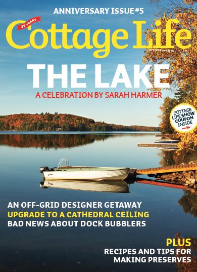 Cottage life ready to expand its tv brand marketing magazine for Spring cottage magazine