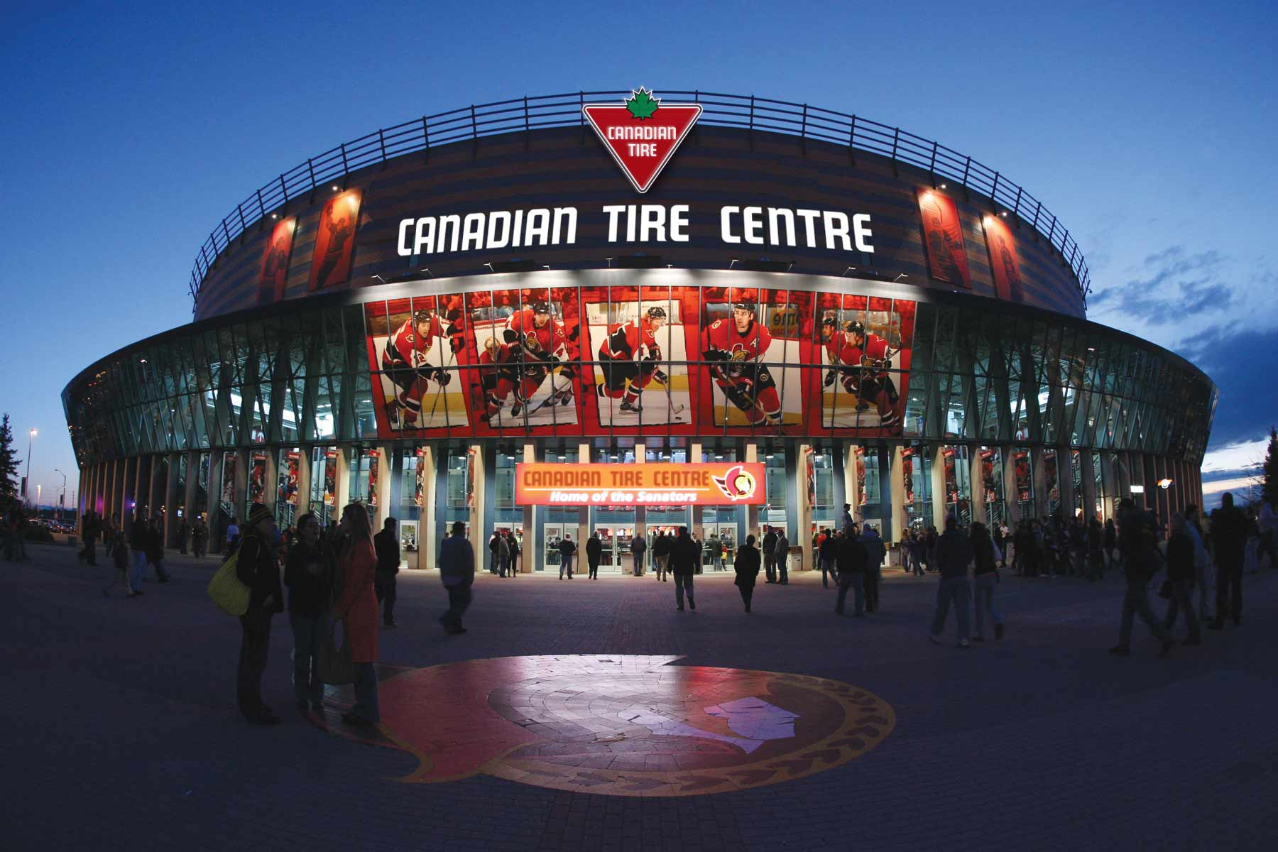 canadian tire and sens sign 360 sports deal marketing magazine