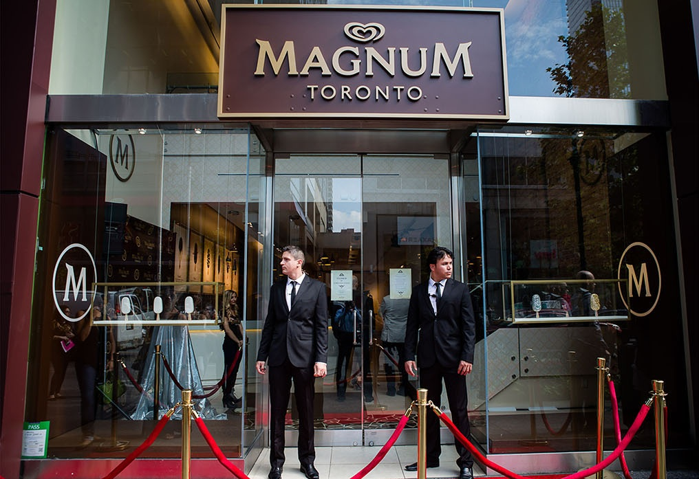 Magnum extends its pop up run in toronto marketing magazine for Magnum pop up store