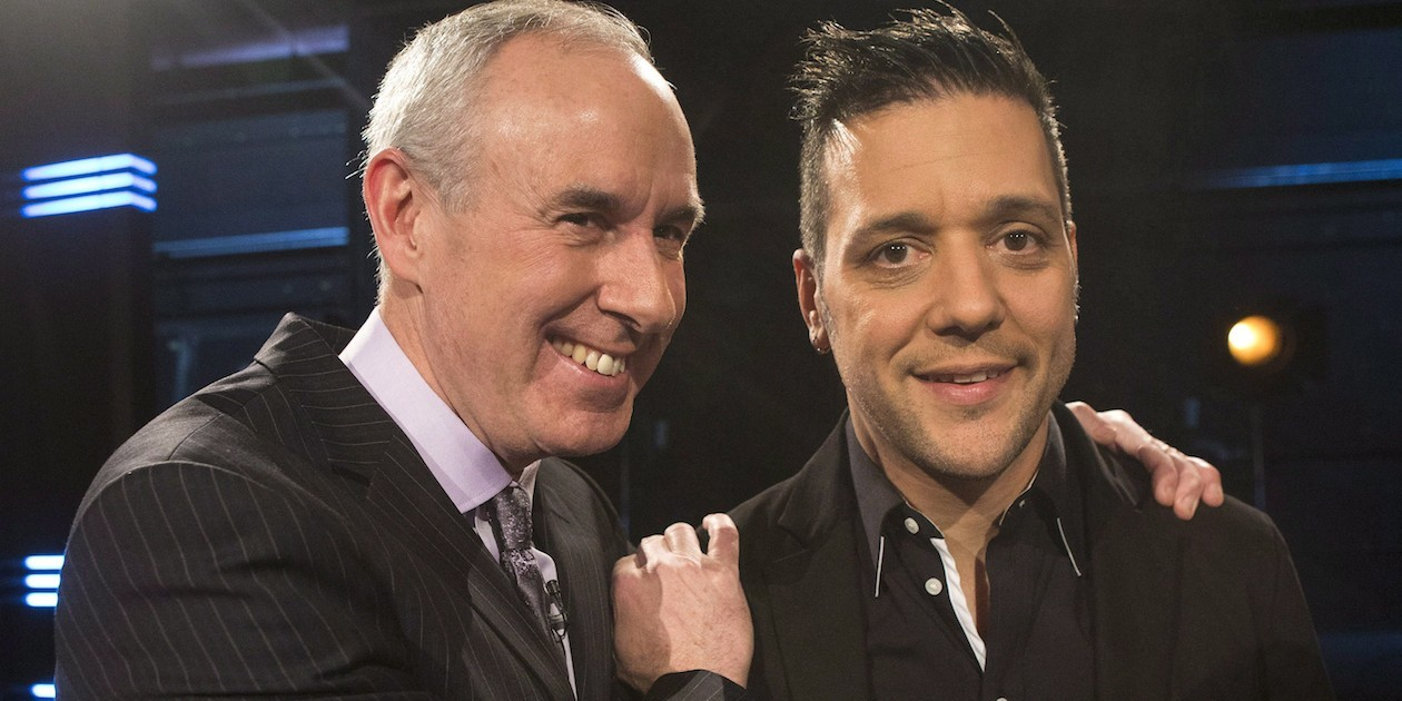 George Stroumboulopoulos; Ron MacLean