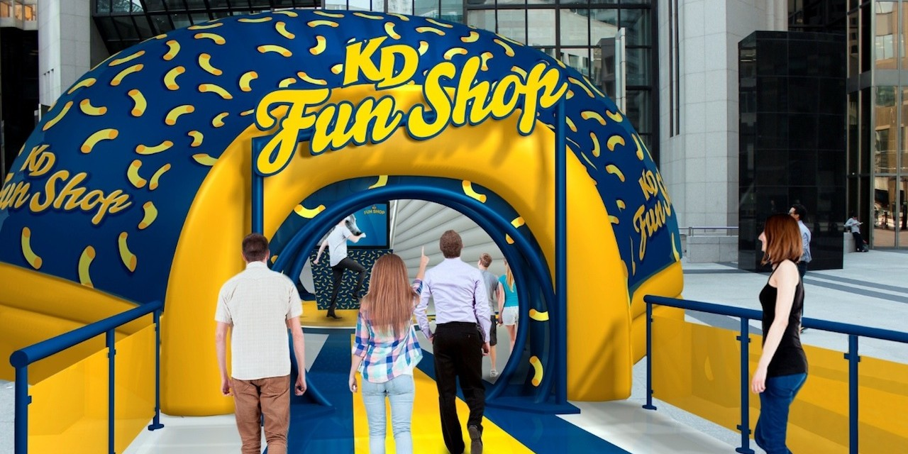 Kraft Dinner Fun Shop