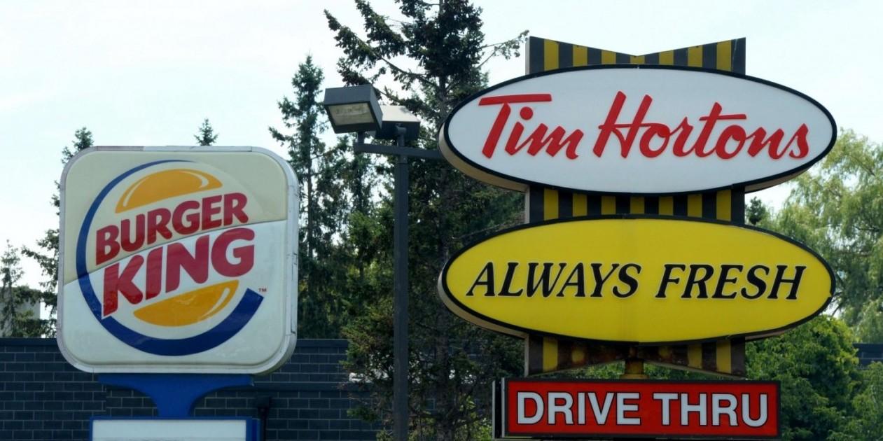 Tim Hortons Burger King 20140825