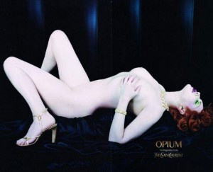 This ad for Opium received more than 1,000 complaints