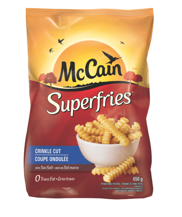 mccain foods limited global fries About mccain® mccain foods ltd is one of the world's largest producer of french fries and potato specialities located in florenceville, new brunswick, canada, mccain has grown to become a.