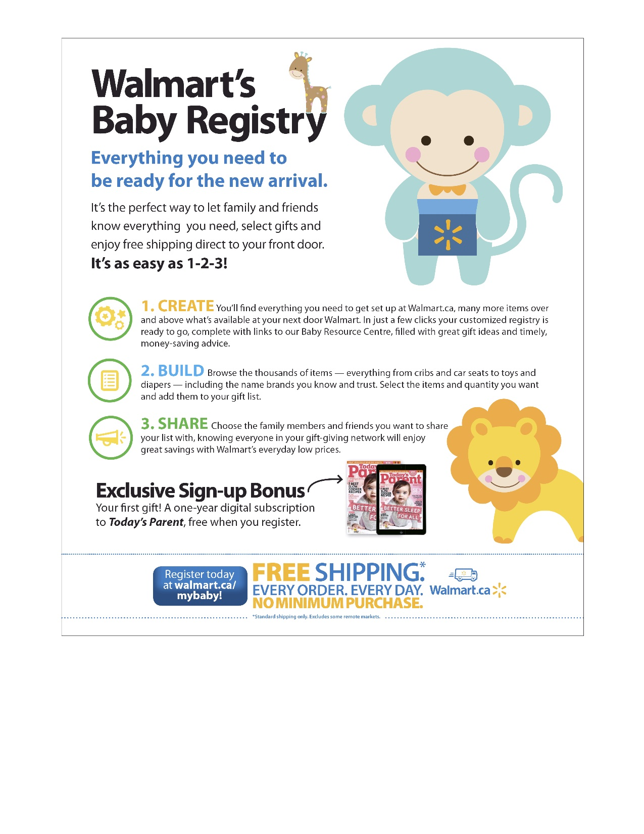 walmart baby registry cards the hippest pics