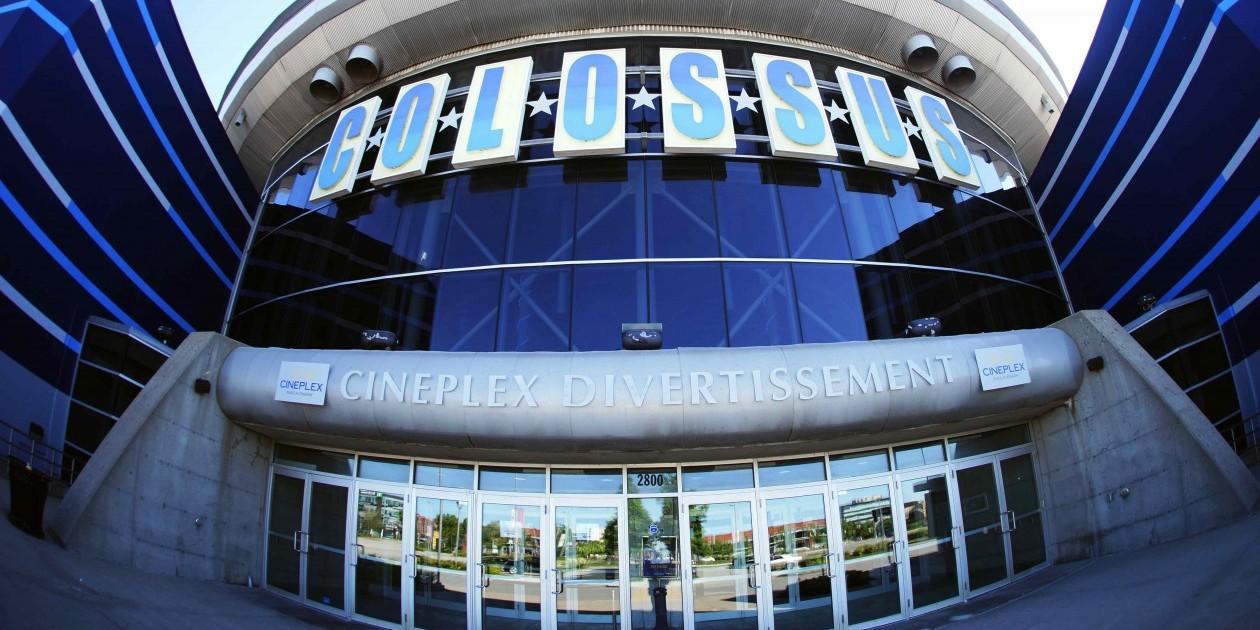 Colossus movie theatre
