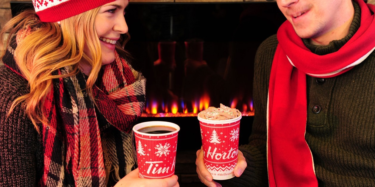 TIM HORTONS - Tim Hortons #WarmWishes Holiday Cup Double Doubles