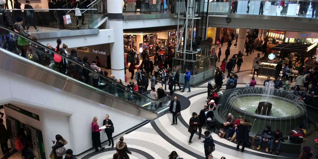 BLACK FRIDAY EATON CENTRE 20141128