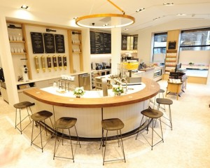 Second Cup Coffee Co. Cafe of the Future - Interior Image - December 4, 2014