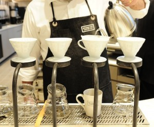 Second Cup Coffee Co. Pour-Over - December 4, 2014