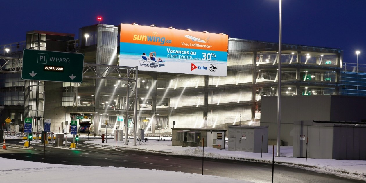 Aeroporto Quebec City : Astral s new spectacular at quebec city airport