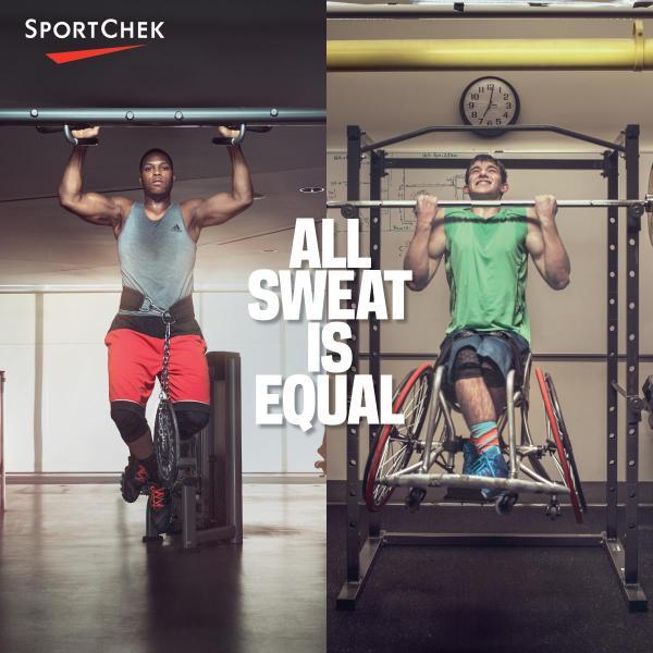 sport chek advertising