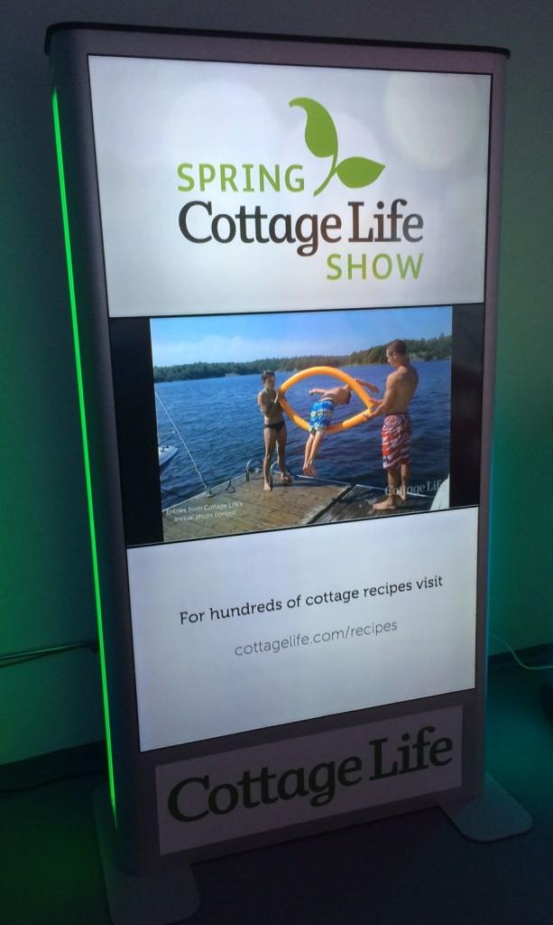 cottage life sign