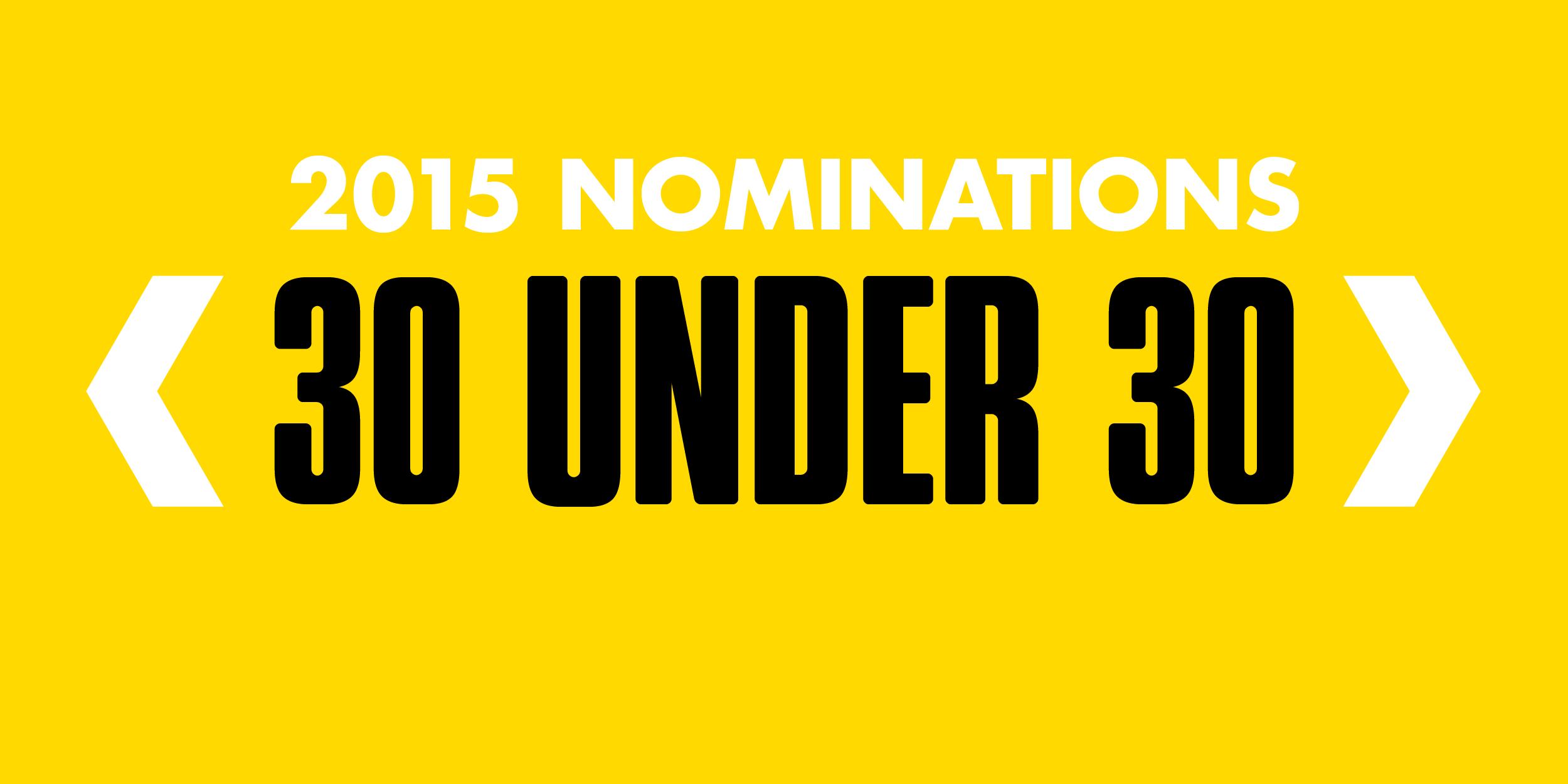 Marketing magazine 30 under 30 2015