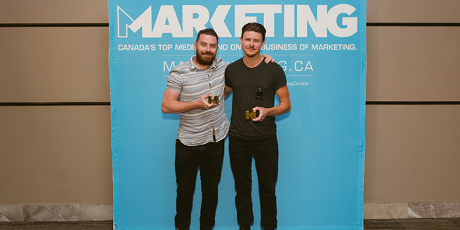 Sid Lee - Gold Wins:  Out-of-Home Billboard Single, 'Sky Swatches.' Client: Réno-Dépôt Design, Environmental Graphics, 'Notman House.' Client: OSMO Foundation Awards Tally: 2 Gold, 2 Silver, 3 Bronze