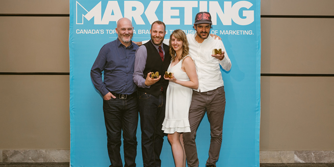 DDB Canada - Gold Wins: Radio Single, 'Man Boobs.' Client: Johnson & Johnson Inc. Branded Content, 'Snack Time.' Client: Milk West Film, Television Single: Over 30 Seconds, 'Airport.' Client: Netflix Awards Tally: 3 Gold, 7 Silver, 3 Bronze