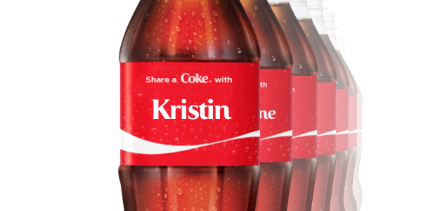 Coke share a name Kristin