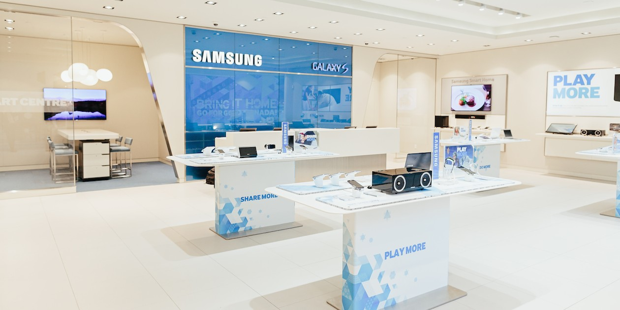 how to open samsung mobile service center