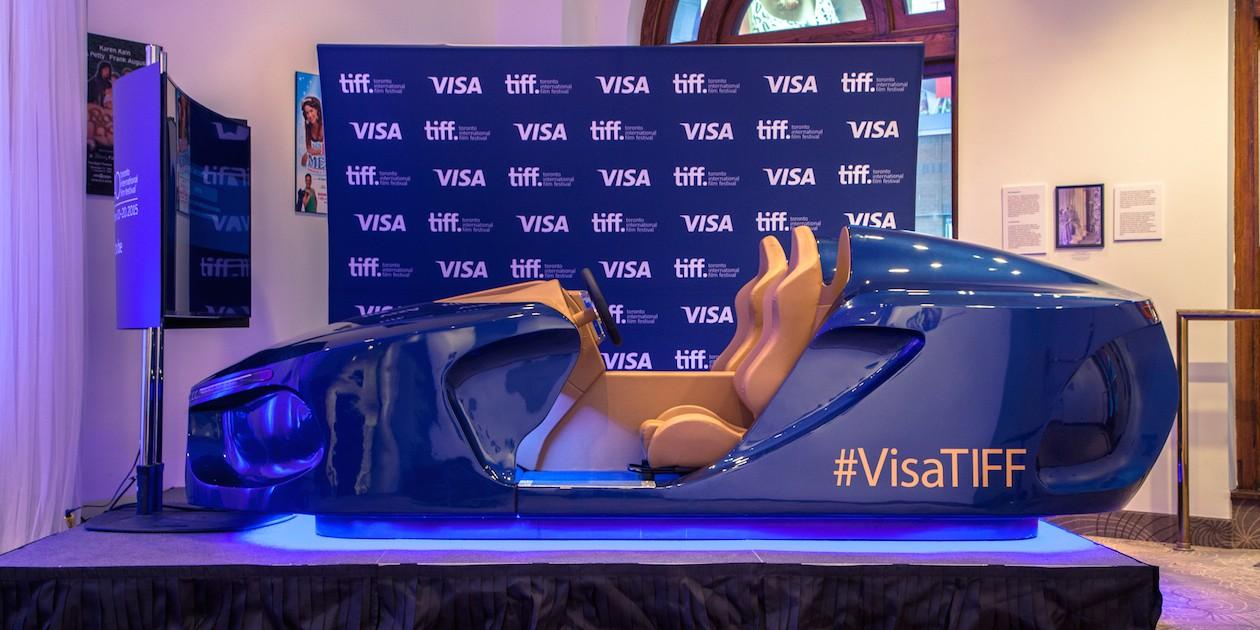 Visa Tiff car