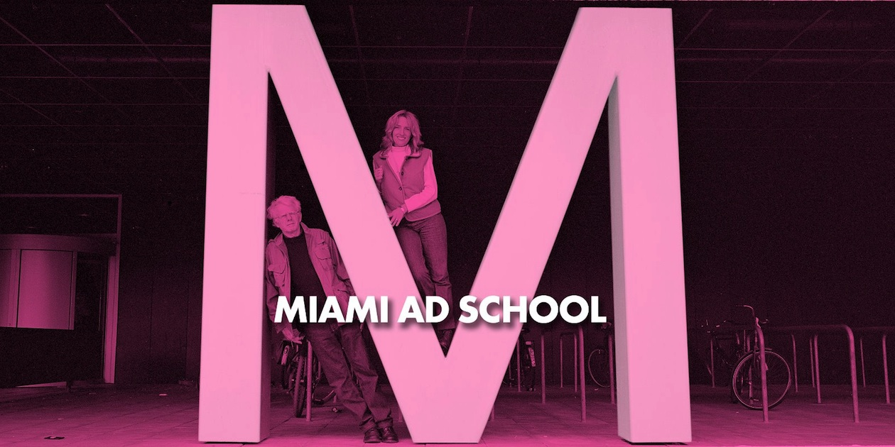 Miami Ad School banner
