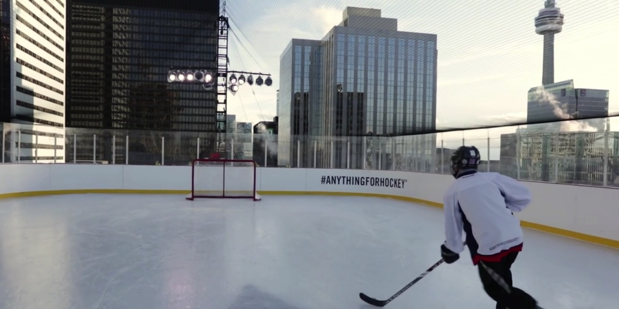 Molson #AnythingForHockey