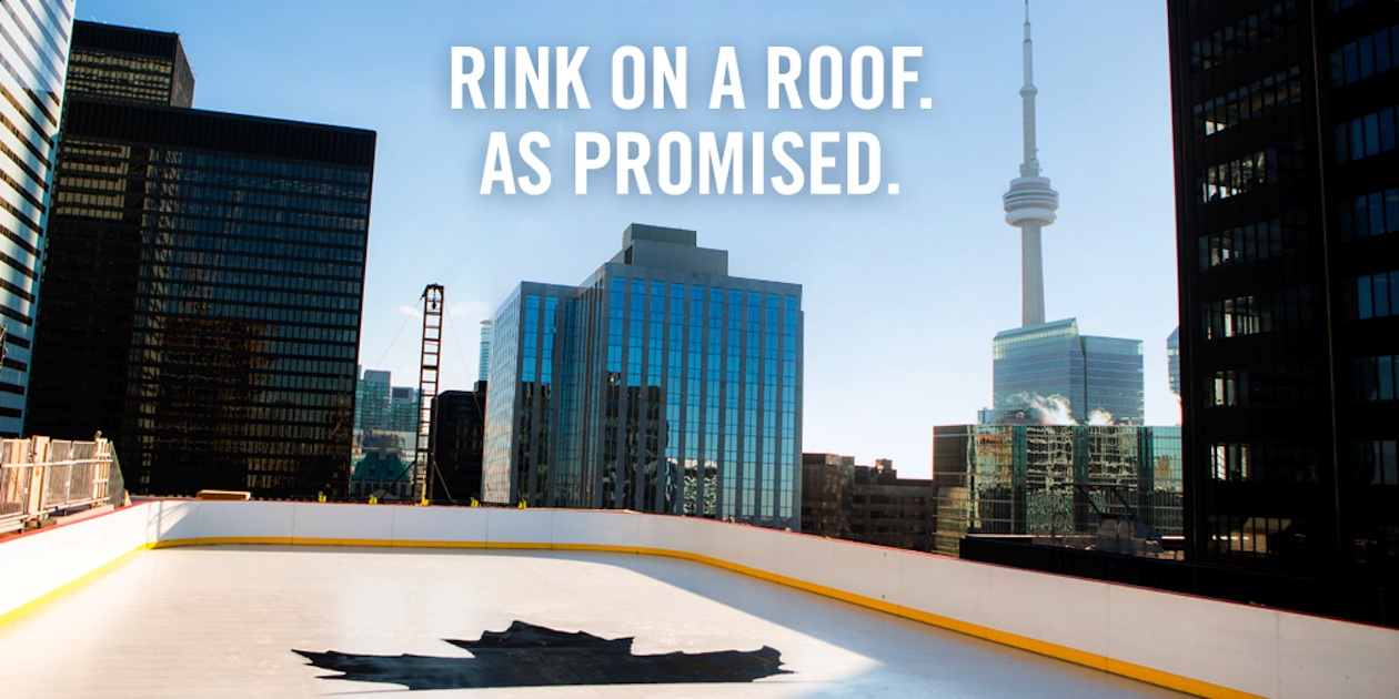 Molson Confirms Rooftop Rink