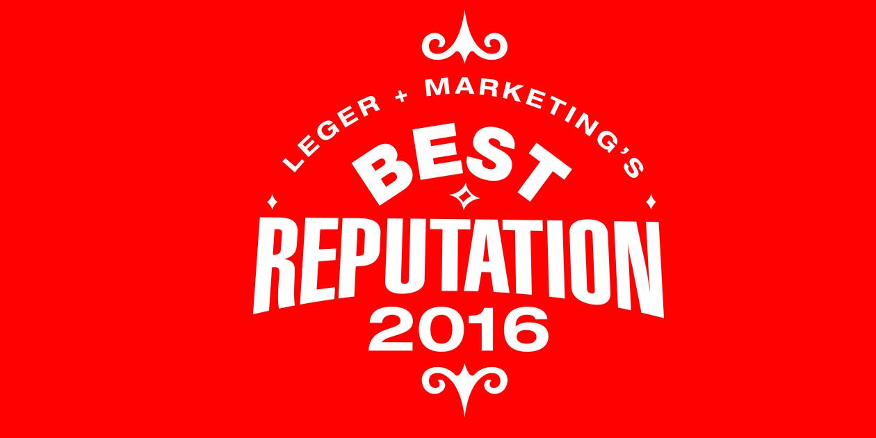 Leger Best Reputation 2016