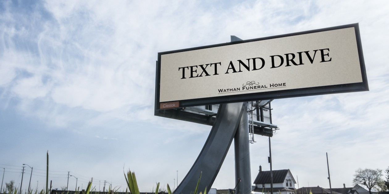 TextandDriveBillboard