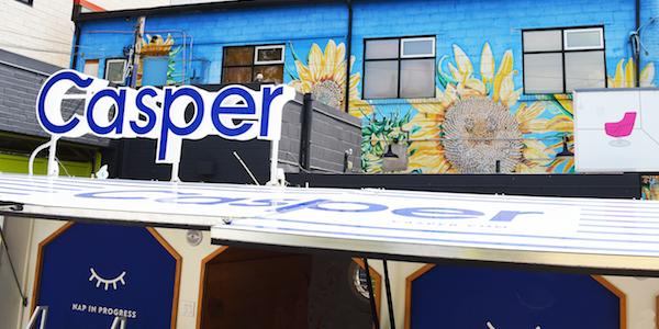 Casper Tour Puts Difficult Mattress Shopping To Bed