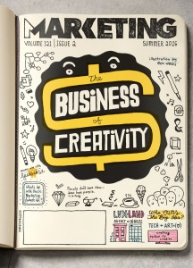 The Business of Creativity Issue is available now (Summer 2016)