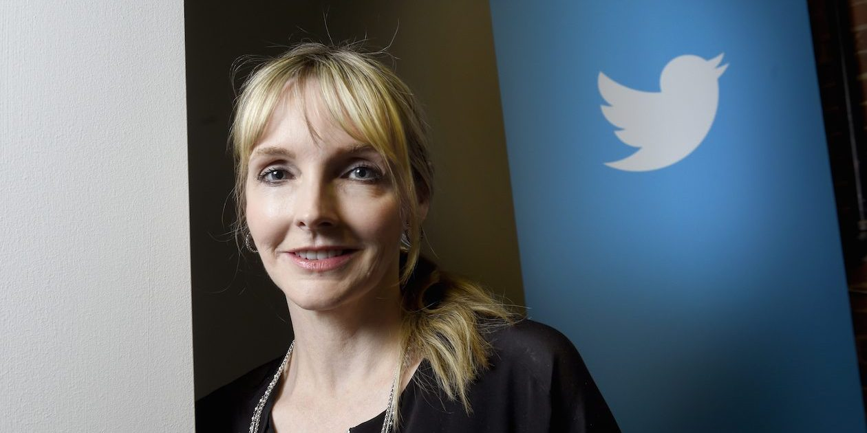 Kirstine Stewart,  Managing Director and Head of Twitter Canada, is photographed at the company's downtown Toronto head office on June 3 2014. The very popular social media company has had a Canadian presence for a year. (Fred Lum/The Globe and Mail)