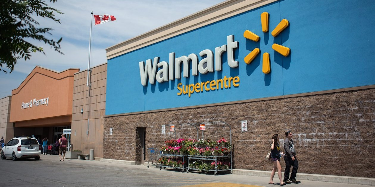 Walmart Supercentre in Kingston, Ont., on June 20, 2016 THE CANADIAN PRESS IMAGES/Lars Hagberg