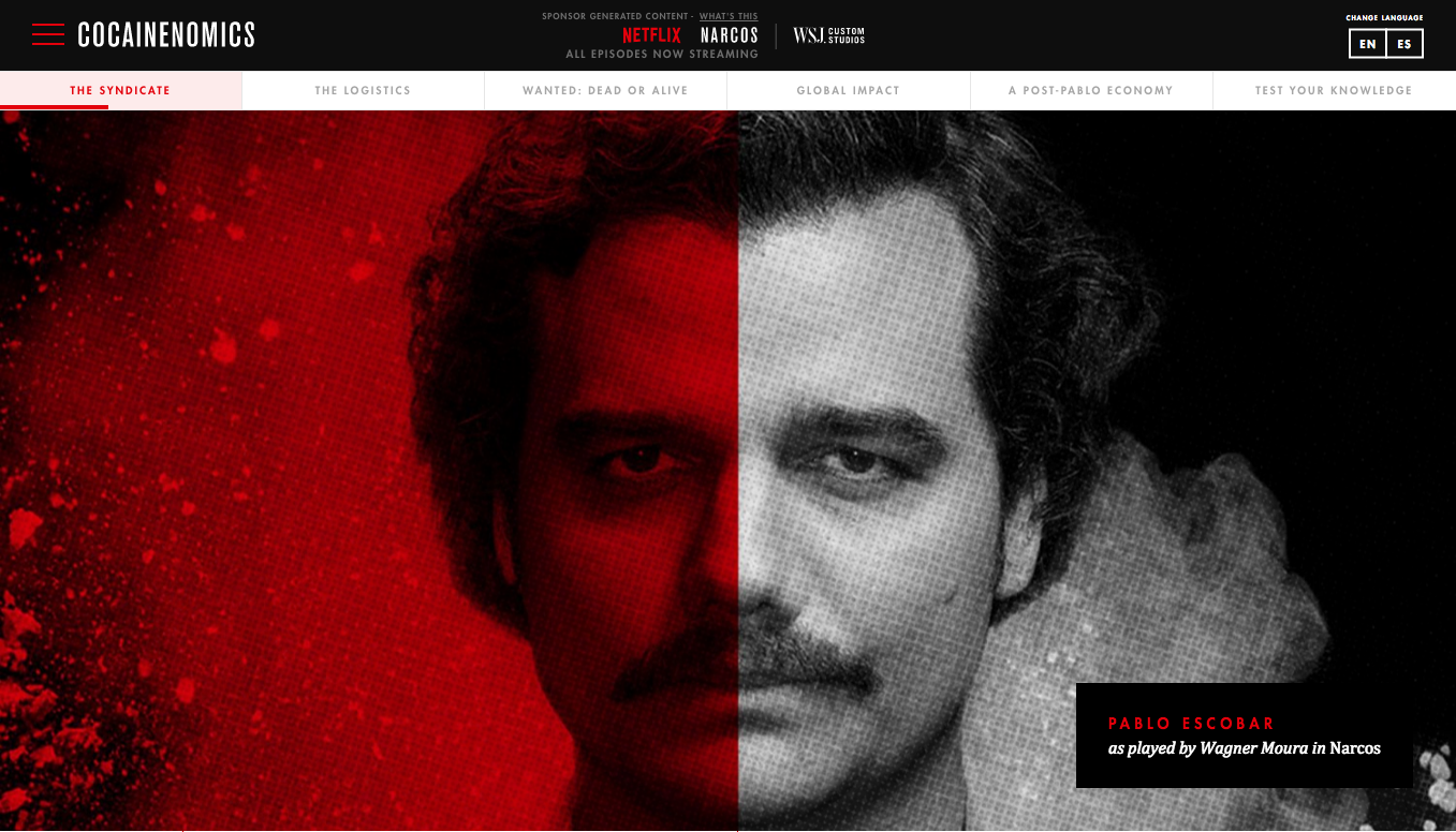 How a Colombian drug cartel changed the content marketing